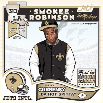 Curren$y – Smokee Robinson Mixtape