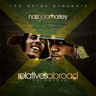 Nas And Bob Marley – Relatives Abroad Mixtape By 100 Akres