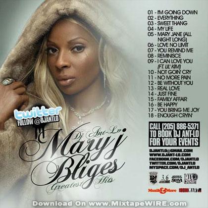 mary j blige album. Mary J. Blige albums (CD,