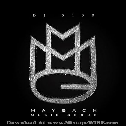 Maybach Logo on Dj 5150   Maybach Music Group Mixtape Download By Rick Ross