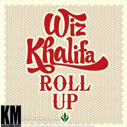 wiz khalifa roll up cover art. wiz khalifa roll up.