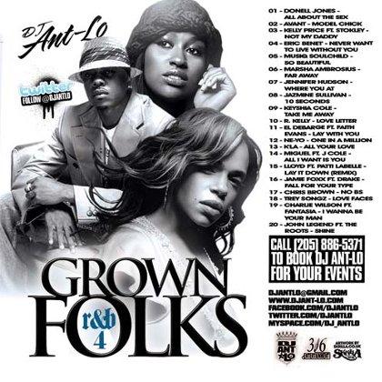 DJ Ant-Lo – Grown Folks R&B Vol 4 Mixtape Mixtape Download