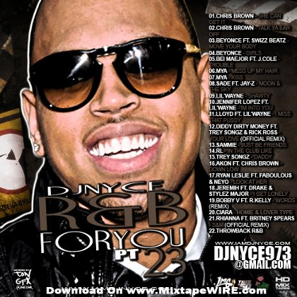 Dj Nyce - R&B For You 24 Mixtape With Chris Brown Mixtape Download