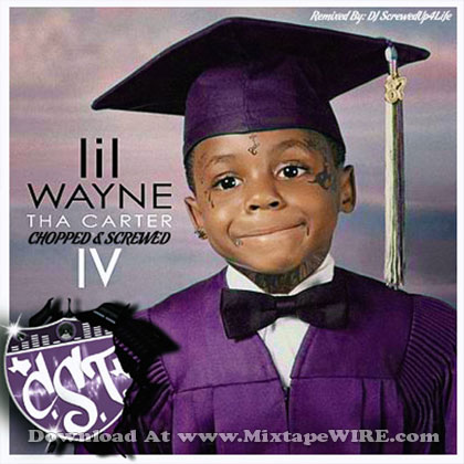 lil wayne carter iv screwed amp chopped mixtape by dj