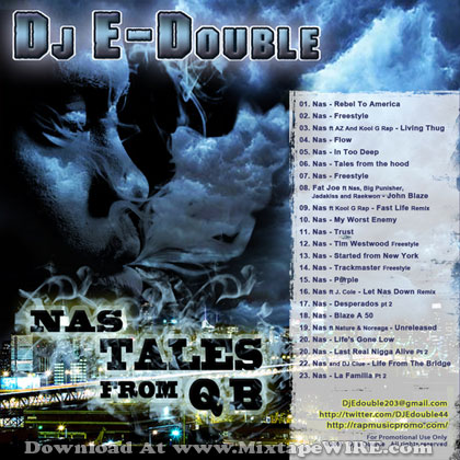 Nas - Tales From Qb Mixtape By Dj E-Double Mixtape Download