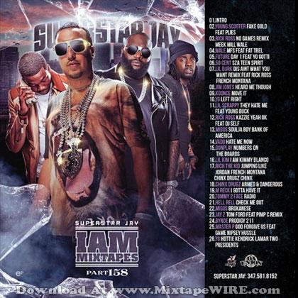 Dj Superstar Jay - I Am Mixtapes 158 Mixtape Download