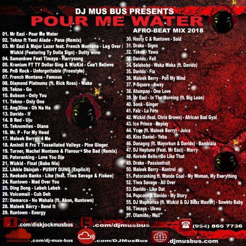 Mr   Eazi, Wizkid, Tekno, Davido & Various - Pour Me Water Afrobeats
