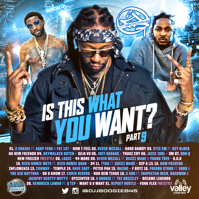 DJ J-Boogie - Is This What You Want Vol 9 Mixtape Download