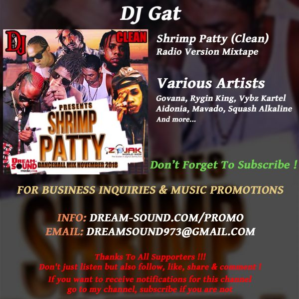 Various Artists - Shrimp Patty (Clean), hosted by DJ Gat
