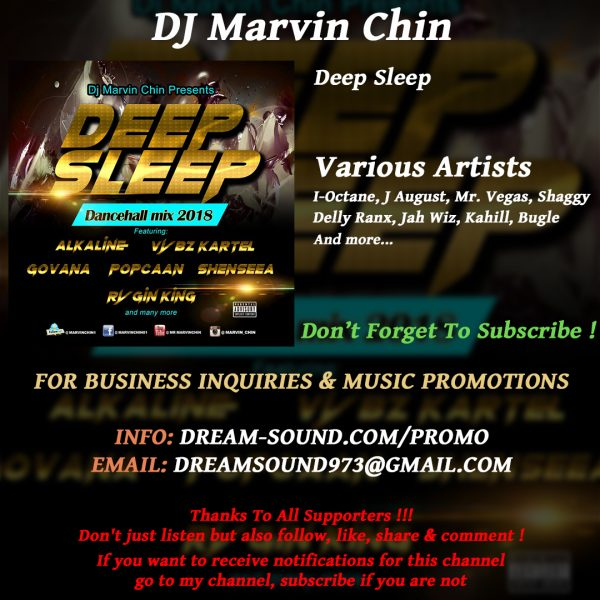 Various Artists - Deep Sleep, hosted by DJ Marvin Chin