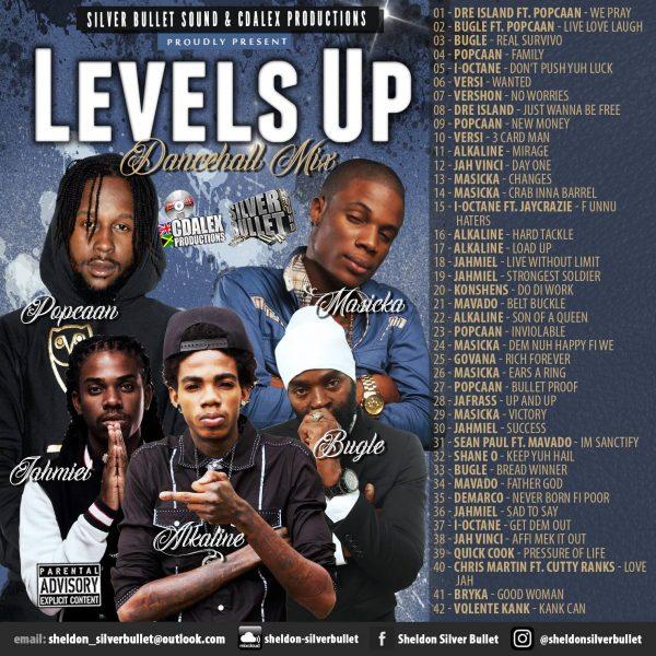 Silver Bullet Sound - Levels Up (Dance Hall Mix) 2018 Mixtape Download