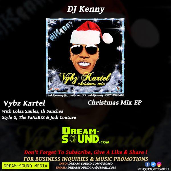 Vybz Kartel - Christmas Mix EP, hosted by DJ Kenny Mixtape