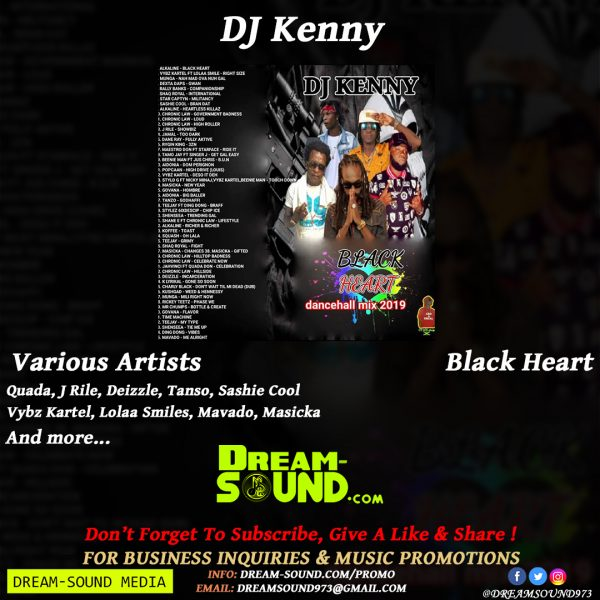 Various Artists - Black Heart, hosted by DJ Kenny Mixtape Download