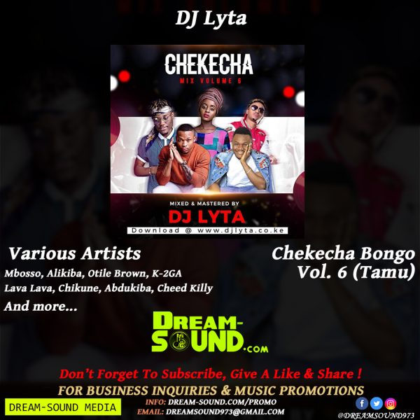 Various Artists - Chekecha Bongo Vol  6 (Tamu), hosted by DJ
