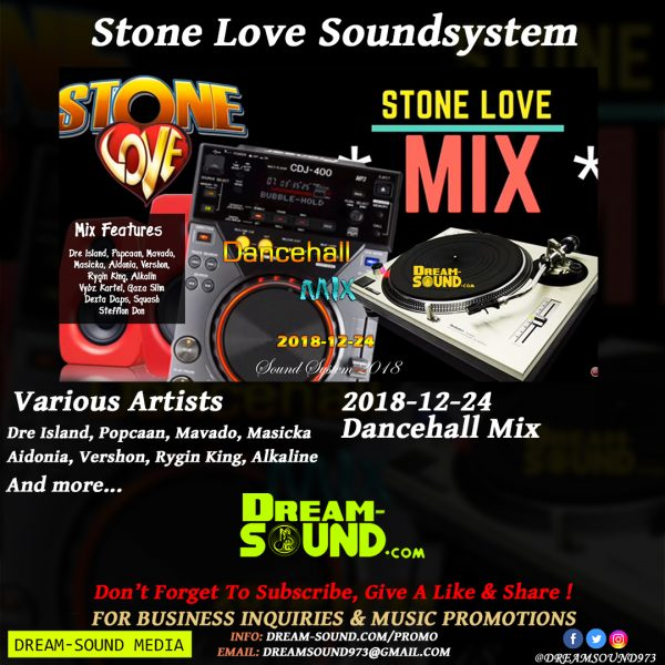 Various Artists - 2018-12-24-Dancehall, hosted by Stone Love Mixtape
