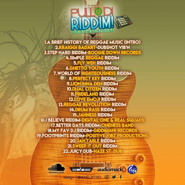 VARIOUS - DJ ECKO-PULL UP DI RIDDIM!, hosted by DJ ECKO Mixtape Download