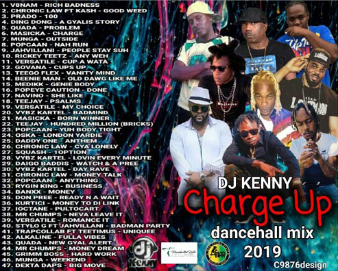 Various Artists - Charge Up, hosted by DJ Kenny Mixtape Download