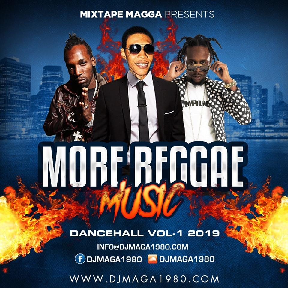 More Reggae Music, Dancehall Pt  1 (Mix 2019 Ft Alkaline